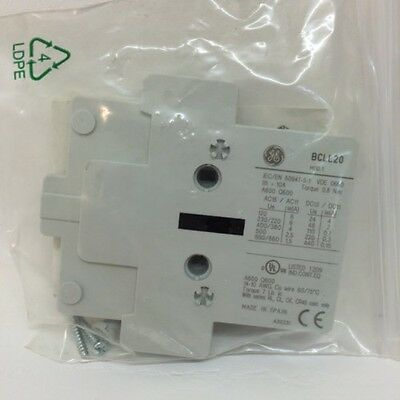 Auxiliary Contact 104706 GE 2NO BCLL20
