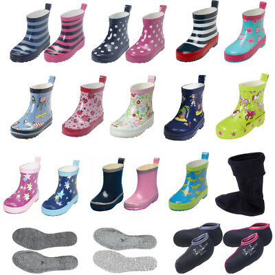 official photos 4f51d bf18b PLAYSHOES KINDER BABY Gummistiefel halbhoch 18 19 20 21 22 23 24 25 26 27