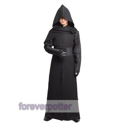 Kylo Ren Cosplay Full Set Deluxe Mens Outfits Star Wars Force Awakens Costume