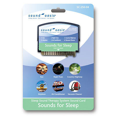 Sounds for Sleep Sound Card by Sound Oasis (SC-250-04)