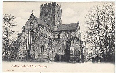 PPC: Carlisle Cathedral from Deanery