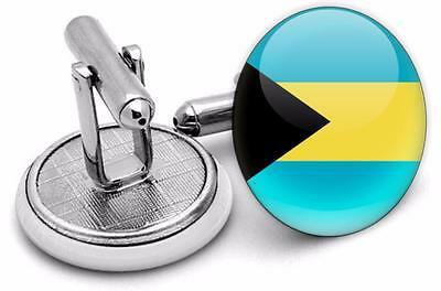 bahamas  Flag Mens  Cufflings