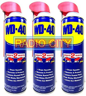 WD-40 Smart Straw 14.4oz. Aerosol Can (3-Pack) Multi-Use Product