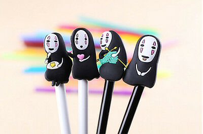 1Pc Kawaii Anime Spirited Away Pen Black Gel Pen Office School Random Send 0.5MM