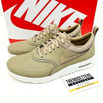 Nike Thea Air Max Premium Desert Camo Us Uk 3 4 5 6 7 8 9 Beige Tan 616723-201