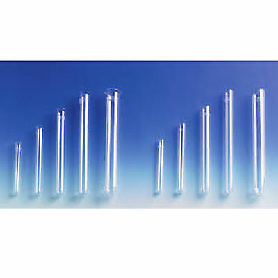 Glass Test Tubes Light Wall With Rim 100mm x 12mm SPECIAL OFFER x 100pcs