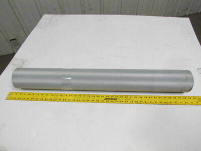 "2 ply blue smooth top nylon back conveyor belt 10ftx36-3/8"" 5/64"" thick"