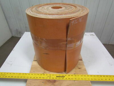 "3 ply tan friction surface conveyor belt 97ftx18"" 13/64"" thick"