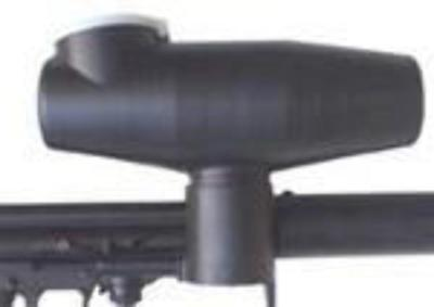 300 Round Offset Paintball Hopper for Tippmann cyclone Feed System [BQ1,OS2-1]