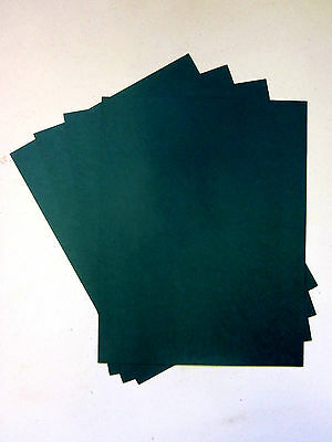 "Green Powis Parker Strip Matching Binder Cover Stock, 8.5"" x11"",  Priced ti sell"