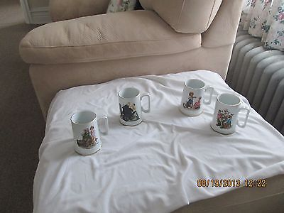 Norman Rockwell cups.