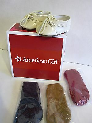 New American Girl Doll Shoes Socks Josephina Moccasin