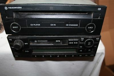 CD-Player original VW plus Radio