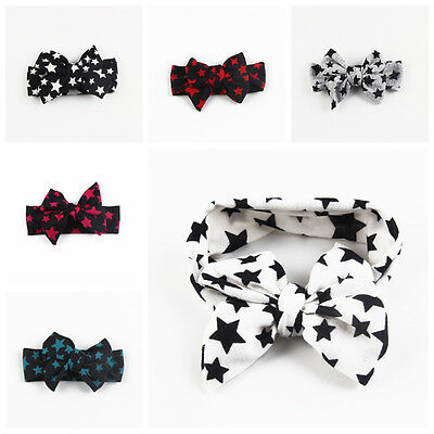 Kids Girl Baby Toddler Stars Headband Hair Band Accessories Headwear For Infant