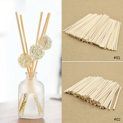 100PCS Premium Rattan Reed Sticks Fragrance Oil Diffuser Replacement Refill 3.9""