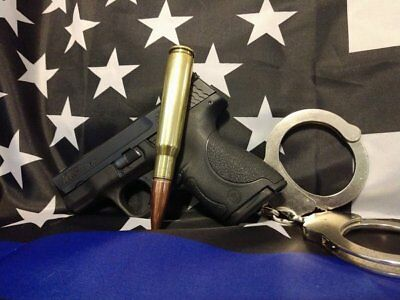 BULLET PEN 50 CAL BRASS REFILLABLE WITH CROSS TYPE PEN...FREE SHIPPING in U.S.A.