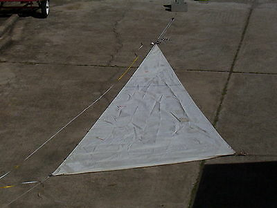 Boaters' Resale Shop of Tx 1408 2342.95 H O Jib w 22-9 luff By West Wind Sails