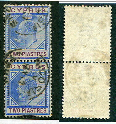 Used Cyprus #41 Pair (Lot #10047)