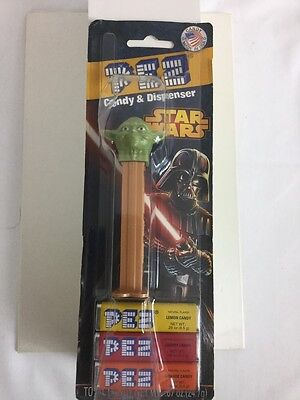 Pez Star Wars Yoda Candy Sealed Never Opened 2013