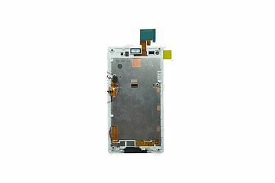 White ~ LCD Display +touch screen+ frame for  Sony Xperia L S36H C2105 C2104