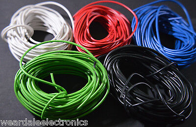 Eqt/hook-Up Wire 24/0.2 Conductors 10M Long Red/green/black/white/blue/yellow