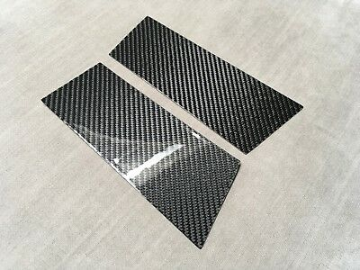 2X2 TWILL REAL CARBON FIBER PILLAR PANELS COVER FOR Z33 350Z Fairlady 03-09