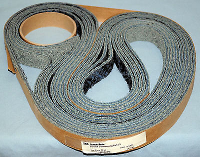 "FIVE (5) 3M Scotch-Brite™ Surface Conditioning Low Stretch Belt, S VFN 1"" x 72"""