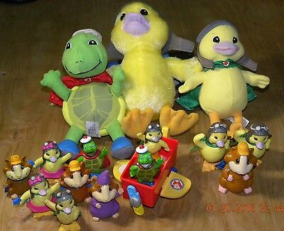 15x WonderPets Wonder Pets Figure & 1x Airplane LOT, YOU GET IT ALL!