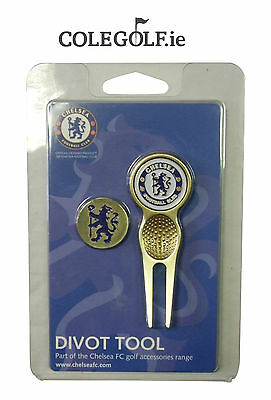 Chelsea Golf Divot Tool & Ball Marker Set