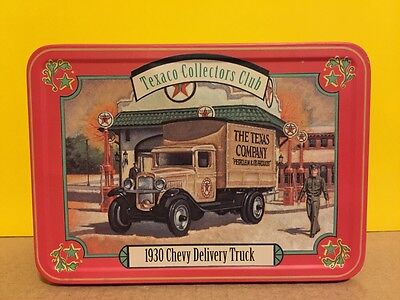 Ertl Texaco Collectors Club 1930 Chevy Delivery Truck Tin 8292 Diecast Texas Co.