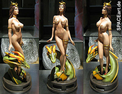 Wei Ho Art Gallery: Lady Dragon Statue | Statue | Yamato