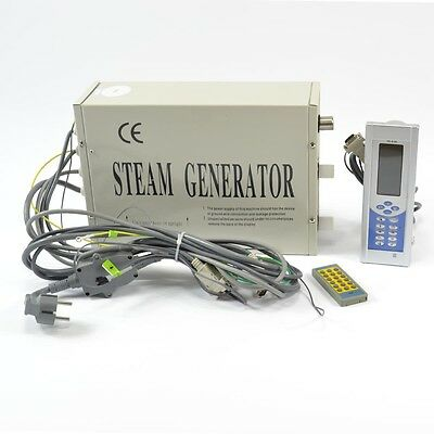 US Stock 3KW STEAM GENERATOR MULTIFUNCTIONAL SAUNA BATH HOME SPA SHOWER