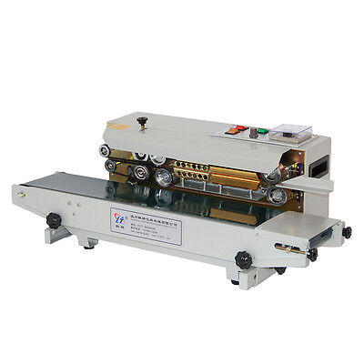Automatic Fr-900 Horizontal Continuous Plastic Bag Band Sealing Sealer Machine