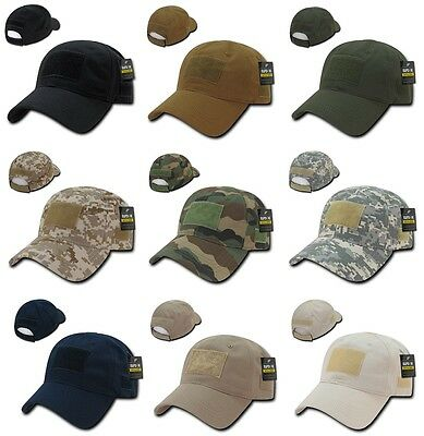 e7d1333e94a Polo Tactical Operator Unstructured Low Crown Contractor Military Baseball  Hat