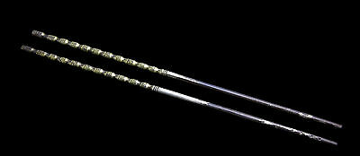 SCARCE EXCLUSIVE Ancient Chinese Silver Gold Inlaid Chopsticks Song Dynasty