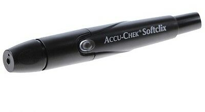 Lancing Device Accu-Chek Softclix Pain Free New Diabetic Kit Aid made by Roche