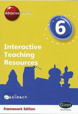 Abacus Evolve Year 6 Interactive Teaching Resources PC CD-ROM FRAMEWORK EDITION