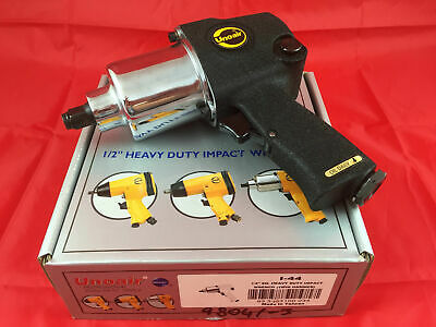 "Unoair 1/2"" SQ. Heavy Duty Air Impact Wrench Twin Hammer I-44 Pneumatic Tool"