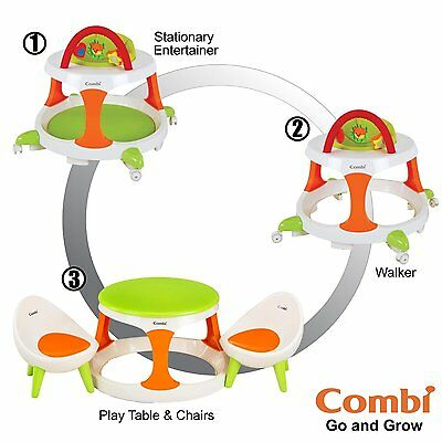 Go and Grow Baby Walker 3 in One Activity Table and Chairs Convertible Kids Toys