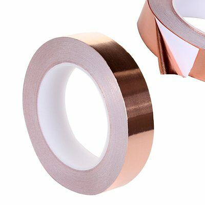 25mmx30m Guitar Anti-static Screening Copper Foil Tape Noise Conductive Adhesive