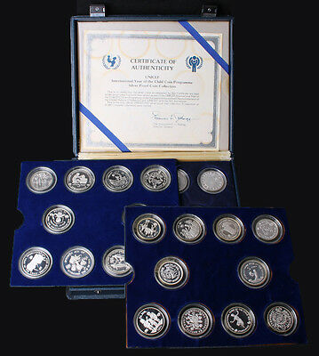 1979 - 1982 International Year of the Child 30 Coins Set