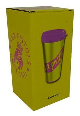 Sex Pistols - Classic Logo Insulated Travel Mug With Lid - New & Official In Box