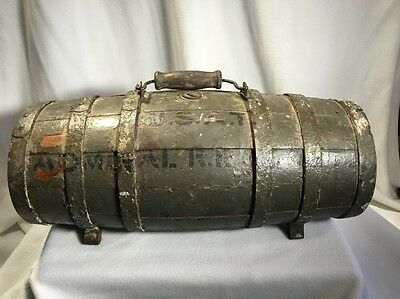 World War 2 Navy Ship Lifeboat Water Jug USS R E Coontz