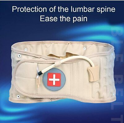 2016 Physio Decompression back belt Spinal brace lumbar support pain Lower Waist