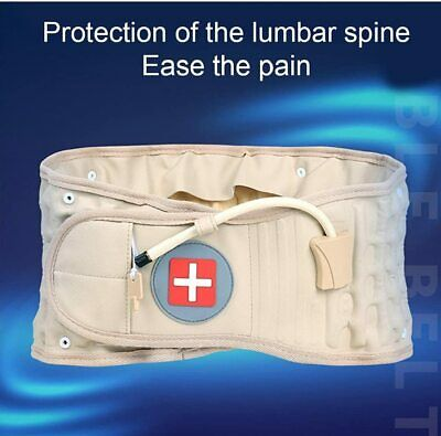 2017 Physio Decompression back belt Spinal brace lumbar support pain Lower Waist