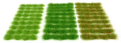 Grass set 1 tufts x117 - Self adhesive static model railway scenery