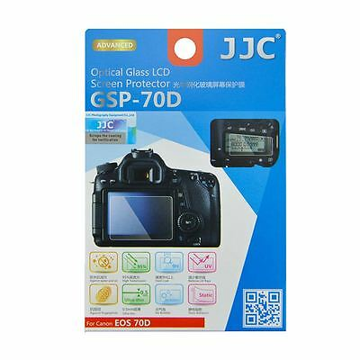 JJC GSP-70D Ultra-Thin Optical Glass LCD Screen Protector for Canon EOS 70D 80D