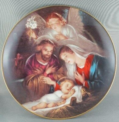 """An Angels Message"" Promise of a Savior Collector Plate"