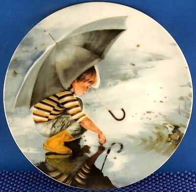 Donald Zolan Touching the Sky Collector Plate
