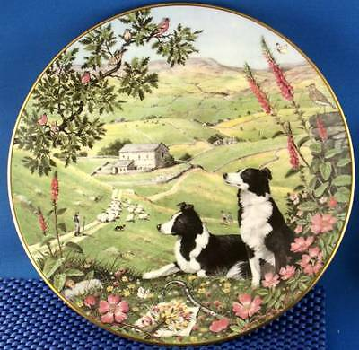 Peter Barrett Sheperd's Path Collector Plate All Creatures Great & Small June